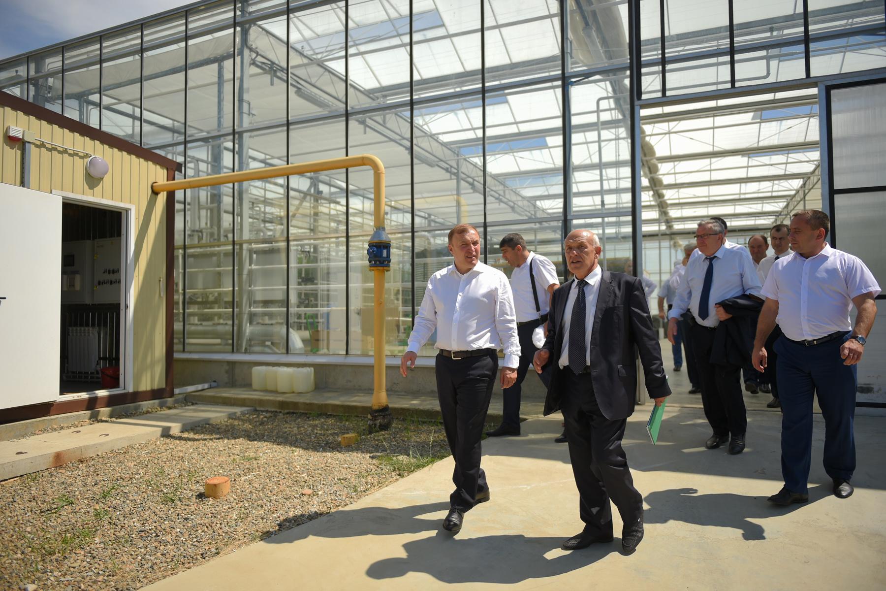 Мурат Кумпилов посетил АгроБизнесИнкубатор