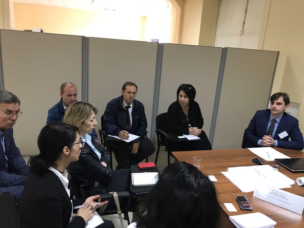 Представители АУ РА «Республиканский бизнес инкубатор» приняли участие в стратегической сессии «Стратегическая диагностика и приоритеты развития Республики Адыгея», проходившей 16-17 мая 2017г.